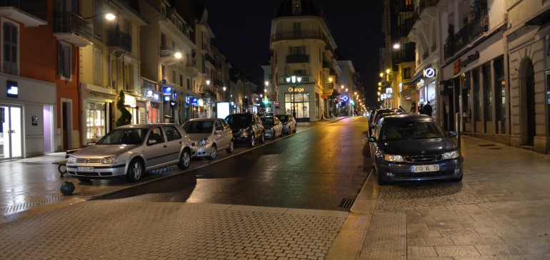 Le Centre ville de nuit